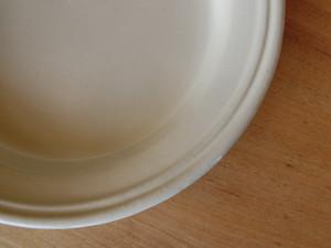 益子焼 よしざわ窯 ホワイト ダブルリム 深皿 1人暮らしの器限定製作