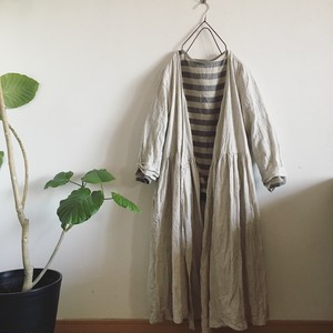 cache-coeur one-piece LINEN キナリ
