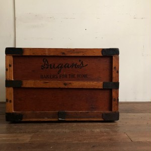 Vintage Wooden Container Box