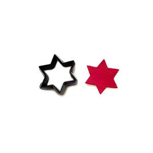 【抜き型】星 / N044