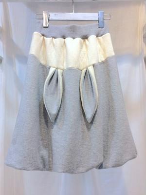 NIGATSU うさバルーンスカート Gray