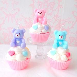 くまカップケーキ