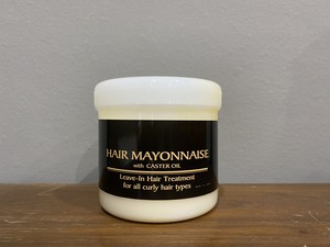 Hair Mayonaise with CASTER OIL (整髪料)