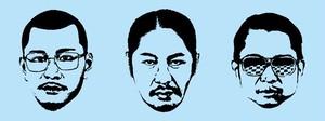 【残り3点‼︎】顔面タオル(AQUA BLUE)