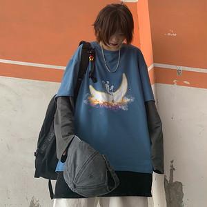 【トップス】ファッションプリント新作春秋パーカー