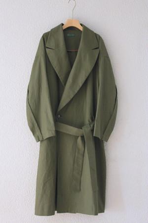 khaki spring coat / ohta
