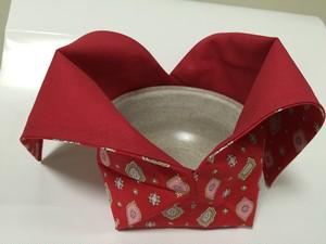 茶碗袋(赤)