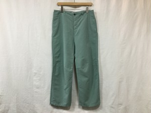 "WISLOM""LUCIE1.1WIDE TROUSERS AQUA GREEN"""
