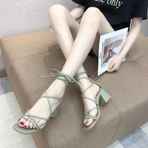 【shoes】人気ファッション無地サンダル20045783