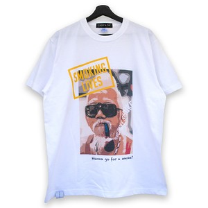 Smoking Lives Tee (JFK-023) - White