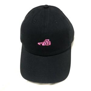 LOGO CAP  /  black×crazy pink