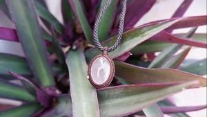 Rose Quartz Macrame Necklace