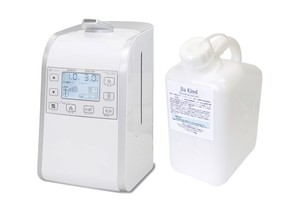 超音波噴霧器HM-201適用床面積約26畳用、50ppm微酸性次亜塩素酸水「除菌ジアカインド」 5Lセット ノズル付き