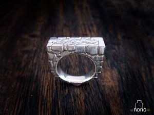 「Ishigaki Ring」 石垣好き必要!職人技が光る石垣リング