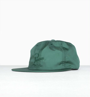 by Parra - signature 6 panel ripstop hat (Green)