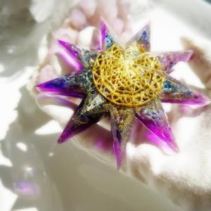 九芒星オルゴナイト