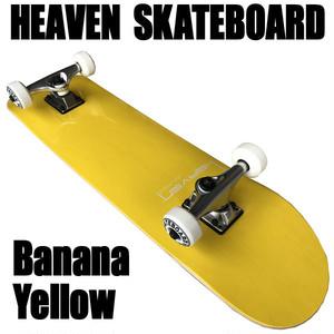 ヘブン ハイスペック コンプリート スケートボード イエロー 31×7.625 選び抜かれた高品質のスケボー