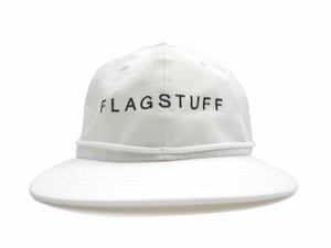"BIG COTTON CAP""F-LAGSTUF-F"" WHITE"
