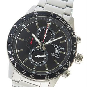 シチズン CITIZEN クオーツ メンズ 腕時計 AN3600-59E ブラック ブラック