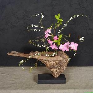 流木の花器、フラワーベース、6