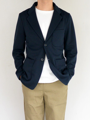 Jackman(ジャックマン)JM8810 Jersey Jacket #01 Dark Navy