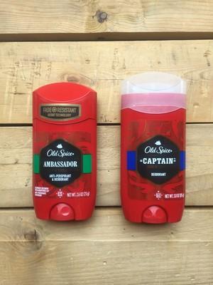 US企画★Old Spice Deodorant Amnassador, Captain の香り