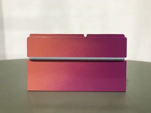 カードケース SC-02 一日が終わる夕方と夜の黄昏時の色