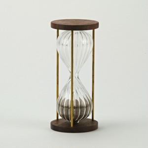 ウォールナットの砂時計