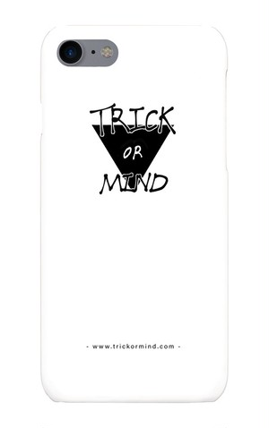 iPhone7用 ケース / Logo / Trick or Mind