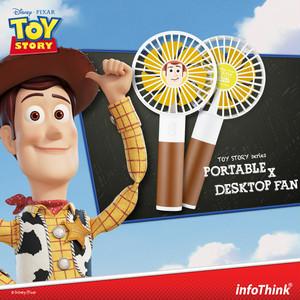InfoThink ポータブル扇風機 Disney トイ・ストーリー4 USB充電 持ち運び 卓上扇風機 ウッディー iFan(Woody)