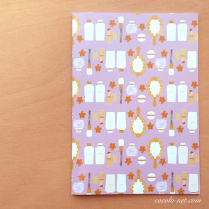 "A5ノート ""すみれ化粧品 Sumire cosmetics"" / Note book"