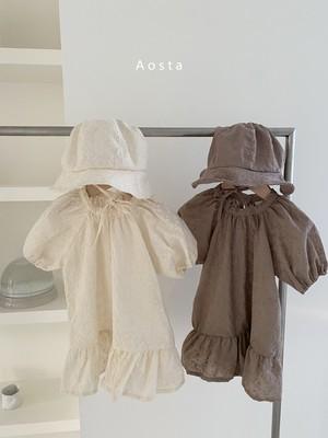 【予約販売】Rachel dress〈Aosta〉
