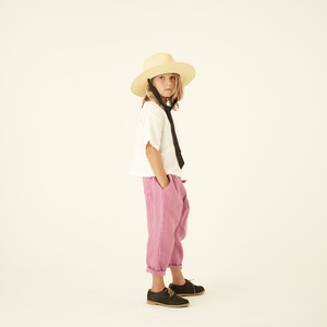 line canvas pants