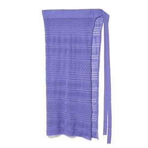 SS Lace Wrap Skirt - PURPLE
