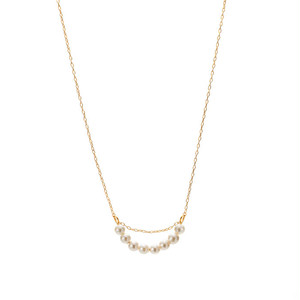 Petit Pearl Arch Necklace