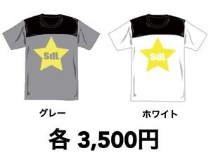【残り2枚!】〝SdL〟Tシャツ グレー/ホワイト