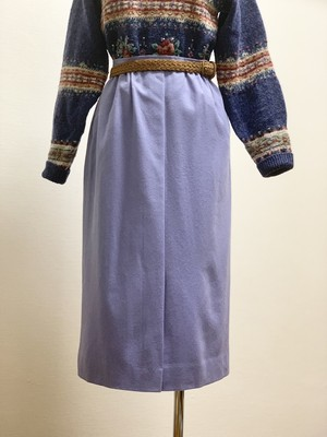 Vintage Pendleton Wool Gathered Tight Skirt