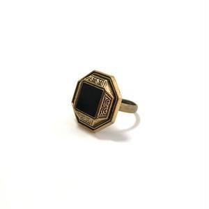 多角形ボタンのリング