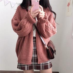 激カワ カーディガン ニットジャケット セーター 2カラー RPTOP092102