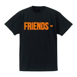 VLONE FRIENDS TEE BK/OR