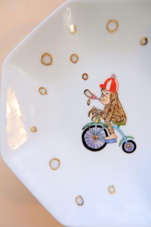 monkey circus / plate(15cm)