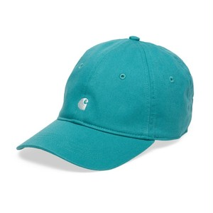 carhartt / MADISON LOGO CAP - Soft Teal / White