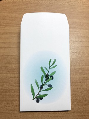 ぽち袋 (olive)