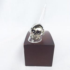 スカル ドクロ ガイコツ 骸骨 髑髏 リング 指輪 ファッションリング 10号 11号 12号 13号 14号 シルバー 銀 SILVER ヒップホップ HIPHOP 1051