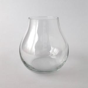 ランプ型のガラスの花瓶|Lamp Shade Glass Vase
