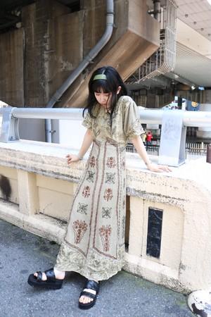 embroidery dress / 6SSOP23-02