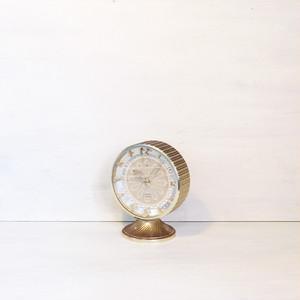 【R-418】東京時計 ゴールド置き時計