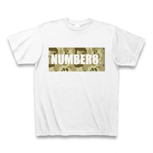 Number8(ナンバーエイト) ロゴスモールダイヤモンドTシャツ(ベージュカモフラバージョン)