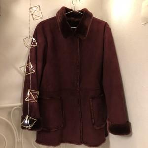 vintage purple coat