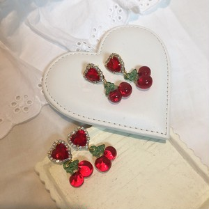 Heart and cherry